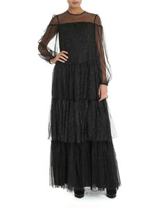 be Blumarine - Long black dress with glitter