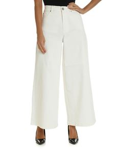 Max Mara Weekend - Ulrico wide jeans in white color