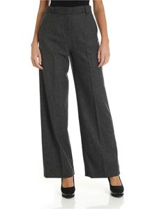 Max Mara Weekend - Calais palazzo trousers in grey color