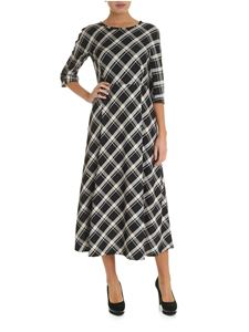 Max Mara Weekend - Clima dress in black with check pattern