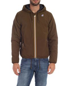 K-way - Jacques Ripstop Marmotta jacket in green