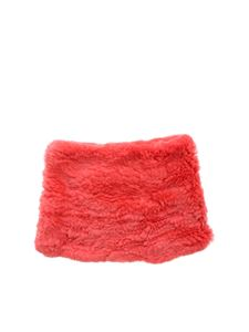 Yves Salomon - Red fur collar