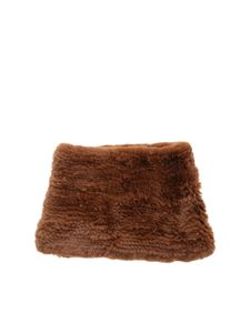 Yves Salomon - Brown fur collar