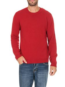 Valentino - Rockstud sweater in red