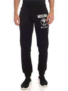 Moschino - Black sweatpants with Moschino print