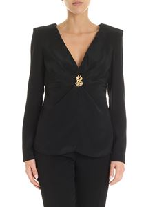 Moschino - Dollar Studs blouse in black