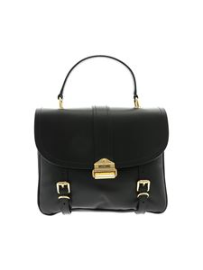 Moschino - Black shoulder bag with straps