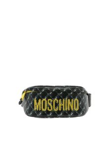 Moschino - Pixel Capsule black belt bag