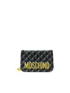 Moschino - Pixel Capsule black bag
