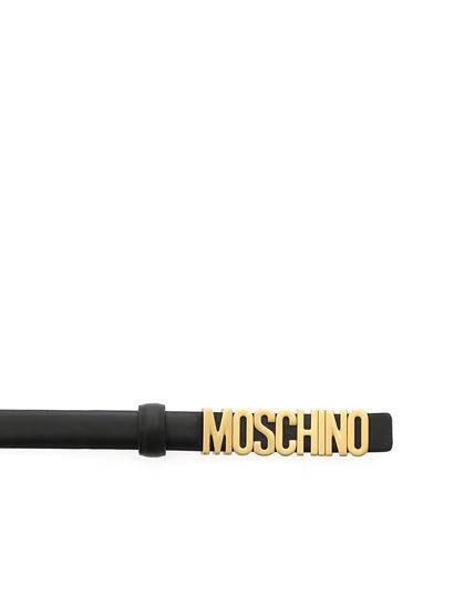 Moschino - Black belt with Moschino logo