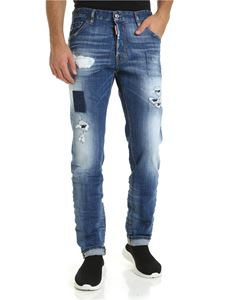 Dsquared2 - Cool Guy jeans in blue color