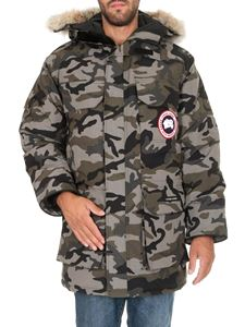 Canada Goose - Expedition parka in camouflage green