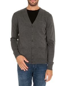 Dsquared2 - Grey cardigan with pockets