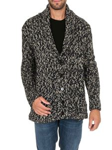 Dondup - White and black knitted cardigan