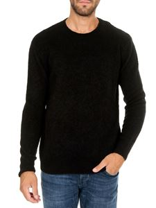 Dondup - Black pullover in knitted fabric
