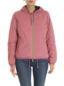 K-way - Lily down jacket in antique pink color
