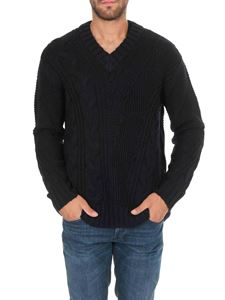 Dondup - Blue V-neck pullover
