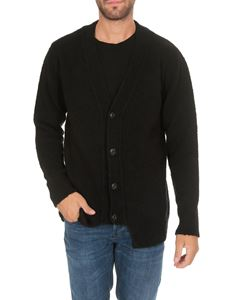Dondup - Black merino wool cardigan