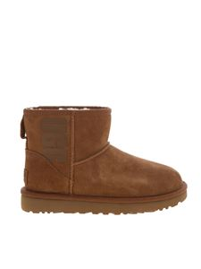 UGG - Classic Mini ankle boots in camel color