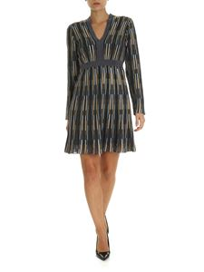 M Missoni - Multicolor V-neck dress