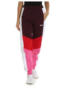 MSGM - Multicolor pants with logo