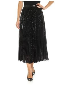 MSGM - Black skirt with sequins