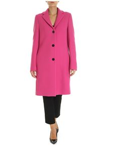 MSGM - Long coat in fuchsia