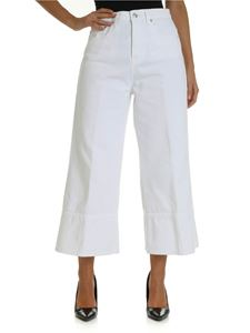 MSGM - 5-pocket jeans in white