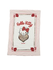 Monnalisa - Romantic Hello Kitty print padded blanket