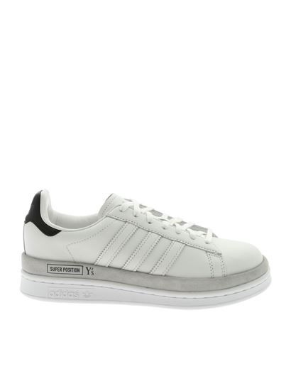 Adidas - Ys Wedge Stan sneakers in white