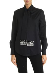 Vivetta - Shirt in black with jewel details