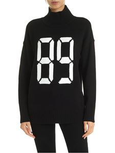 DKNY - 89 high neck pullover in black