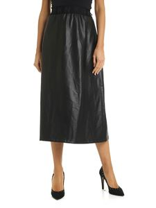 DKNY - Skirt in black with elasticated waist