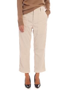 Sofie D'Hoore - Porter trousers in ivory corduroy