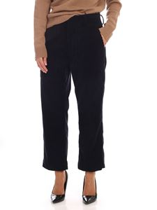 Sofie D'Hoore - Porter trousers in blue corduroy