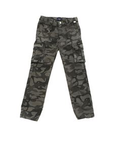 Il Gufo - Camouflage stretch cotton trousers