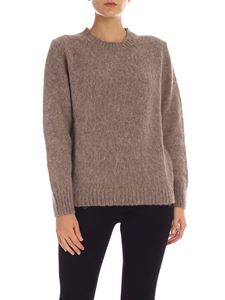 Aspesi - Wool pullover in taupe color