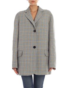 Sofie D'Hoore -  Grey overfit jacket with contrasting check pattern