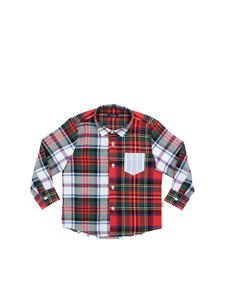 Il Gufo - Check shirt with pocket