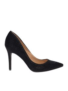 Kendall + Kylie - Reese pumps in black sparkle