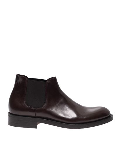 Doucal's - Ankle boots in brown leather