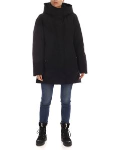 Woolrich - Boulder parka coat in black