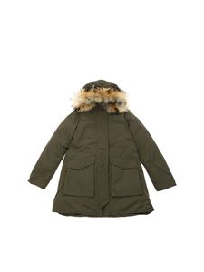 Woolrich - Military Parka down jacket in Army green color