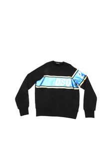 Dsquared2 - Metallics Duo black sweatshirt