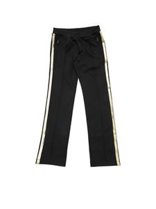 Dsquared2 - Sequin Embroidered black trousers