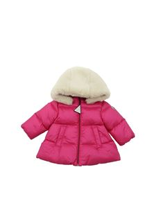 Moncler Jr - Caen down jacket in fuchsia