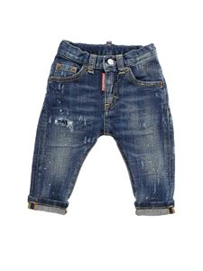 Dsquared2 - Baggy jeans in blue color