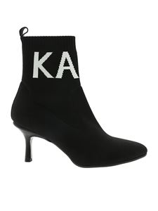 Karl Lagerfeld - Pandora ankle boots in black
