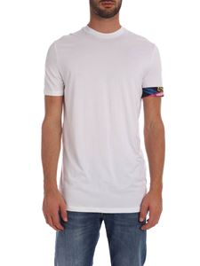 Dsquared2 - White T-shirt with branded elastic band