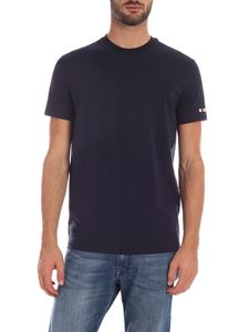 Dsquared2 - Blue T-shirt with logo print